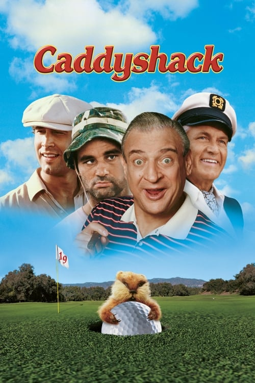 The poster of Caddyshack