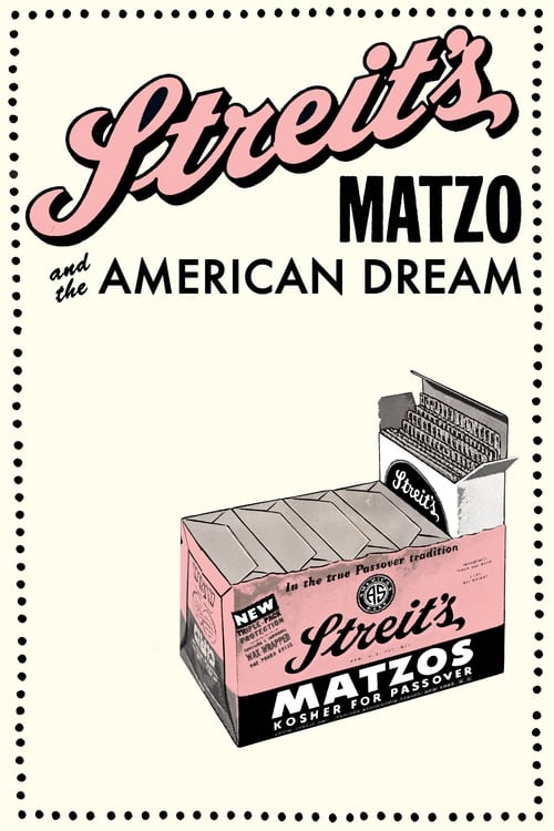 Largescale poster for Streit's: Matzo and the American Dream