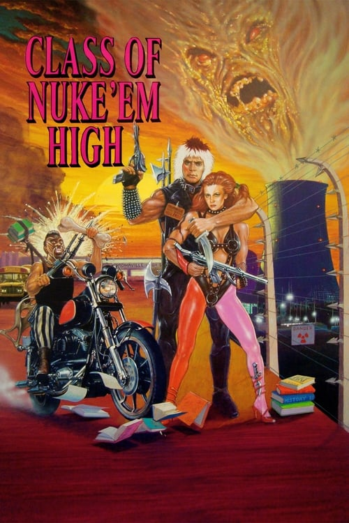 Largescale poster for Class of Nuke 'Em High