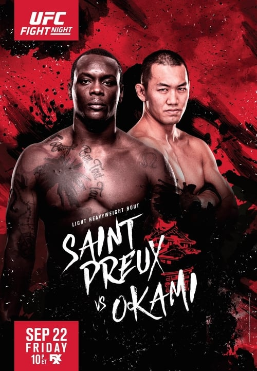 Assistir UFC Fight Night 117: Saint Preux vs. Okami Com Legendas Em Português