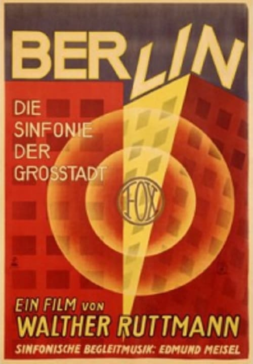 Regarder Berlin, symphonie d'une grande ville (1927) Streaming HD FR