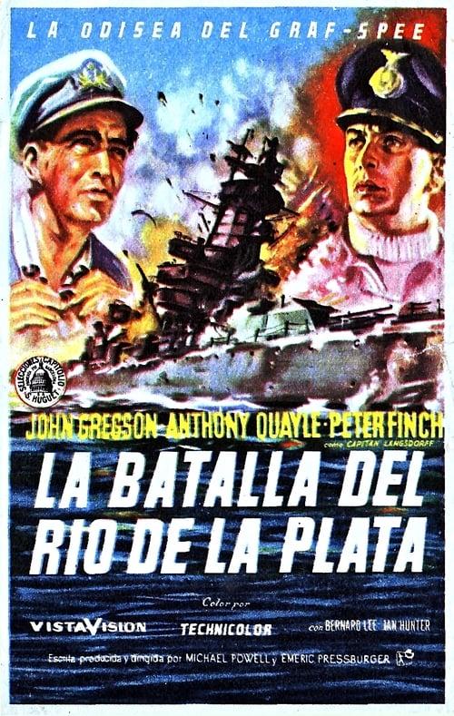 Mira La Película La batalla del Río de la Plata Completamente Gratis