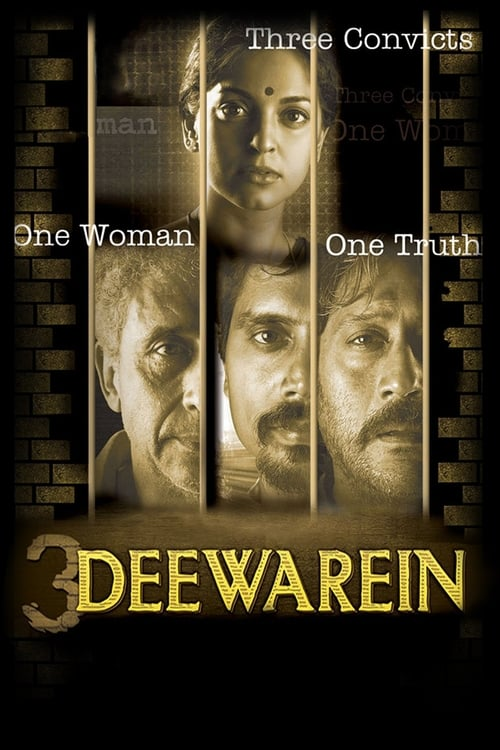 3 Deewarein Affiche de film
