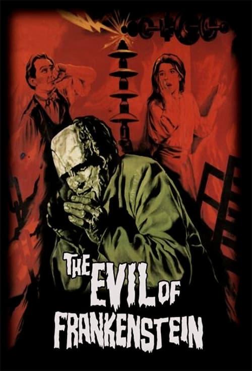 The Evil of Frankenstein Poster