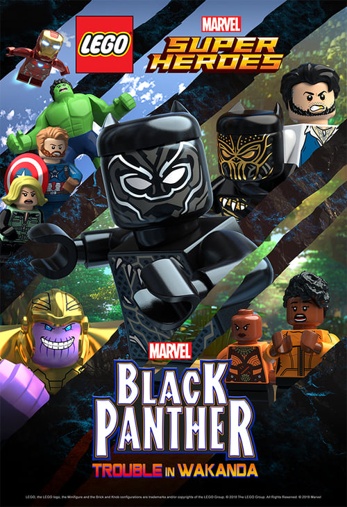 Assistir Filme LEGO Marvel Super Heroes: Black Panther - Trouble in Wakanda Em Boa Qualidade Hd 720p