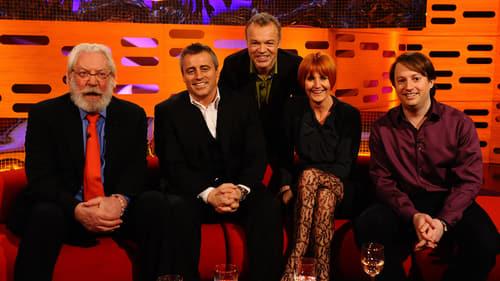 The Graham Norton Show: Season 8 – Episod Matt LeBlanc, Mary Portas, David Mitchell, Donald Sutherland