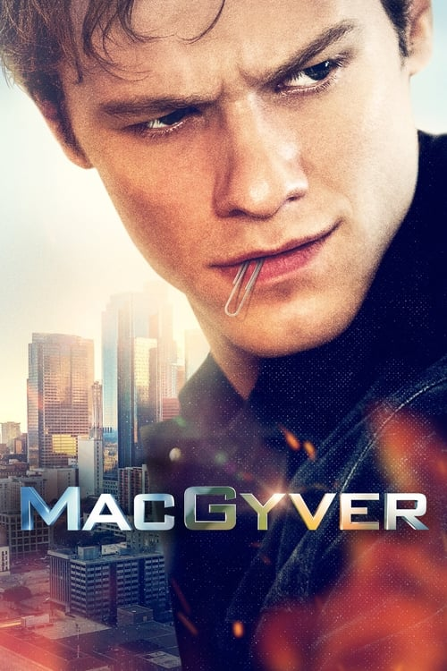 MacGyver Season 4 Episode 3 : Kid + Plane + Cable + Truck
