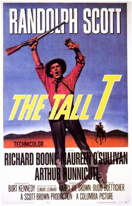 The Tall T poster