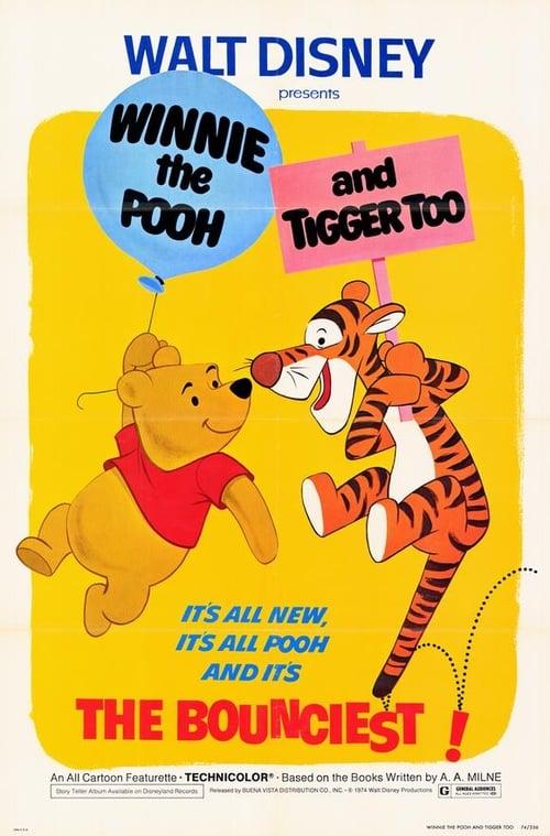 Filme Winnie the Pooh and Tigger Too Grátis Em Português