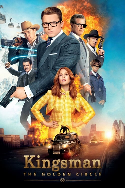Poster. Kingsman: The Golden Circle