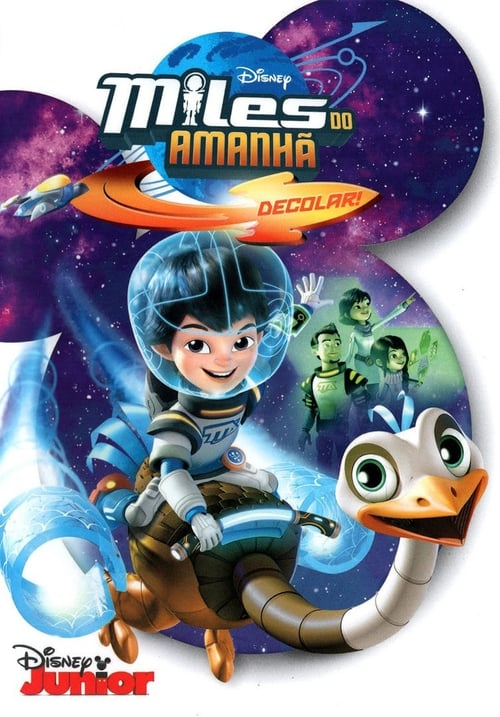 Largescale poster for Miles From Tomorrowland - Lets Rocket