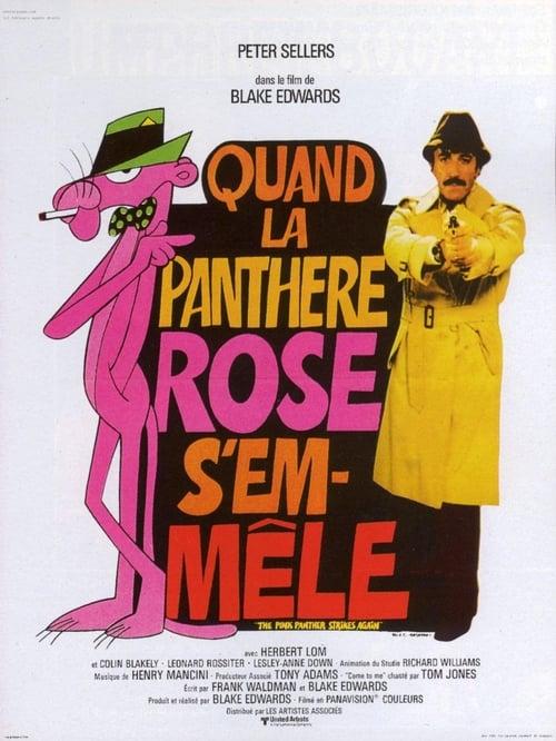Quand la Panthère rose s'emmêle Streaming VF