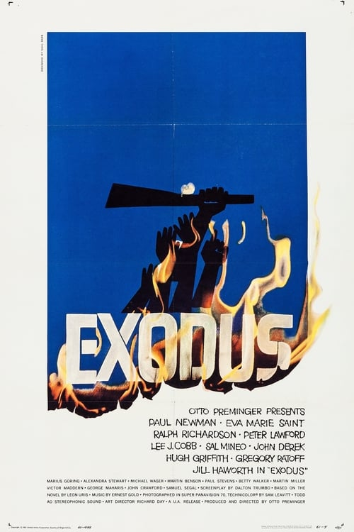 Streaming Exodus (1960) Full Movie