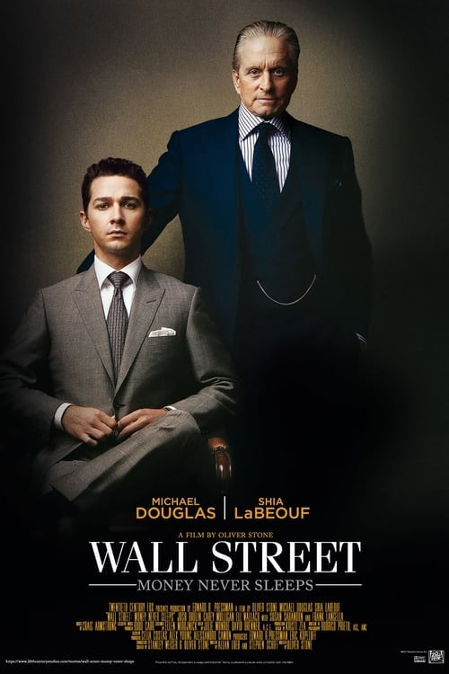 Poster for the movie, 'Wall Street: Money Never Sleeps'