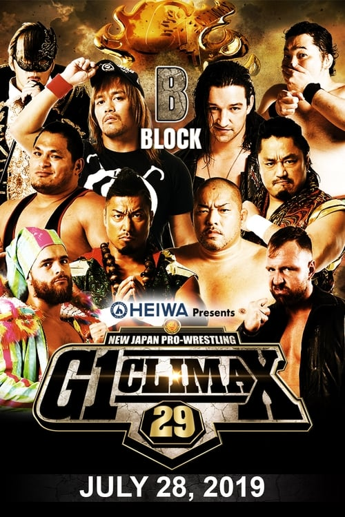 Watch NJPW G1 Climax 29: Day 10 Online Thevideo