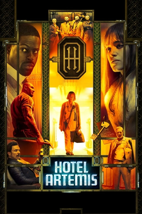Let's watch Hotel Artemis online full