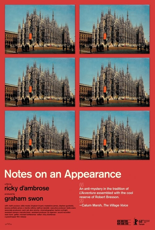 Assistir Notes on an Appearance Online Grátis