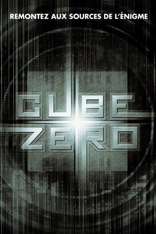 Regarder Cube Zero (2004) Streaming HD FR