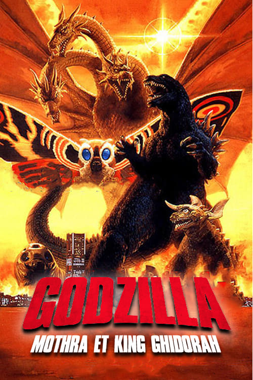 ✪ Godzilla, Mothra and King Ghidorah: Giant Monsters All-Out Attack (2001) ♛