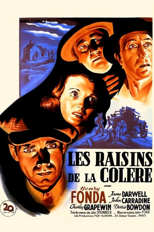 Regarder Les raisins de la colère (1940) Streaming HD FR