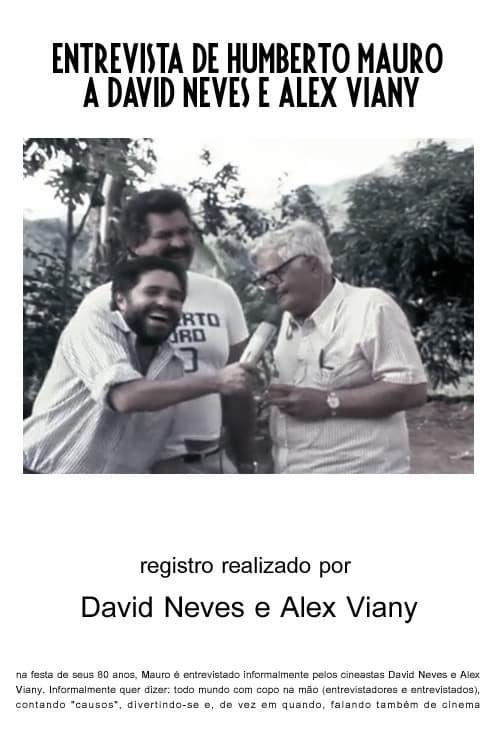 Ver pelicula Entrevista de Humberto Mauro a David Neves e Alex Viany Online