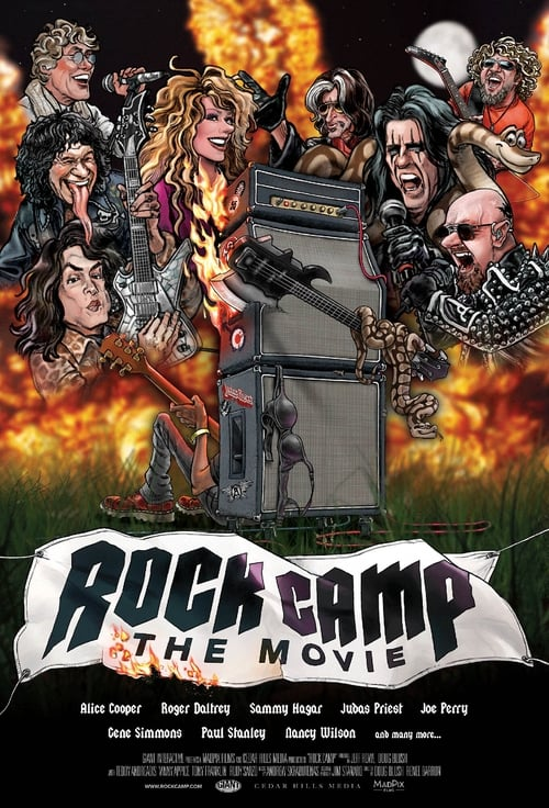 Rock Camp: The Movie (2021) Poster