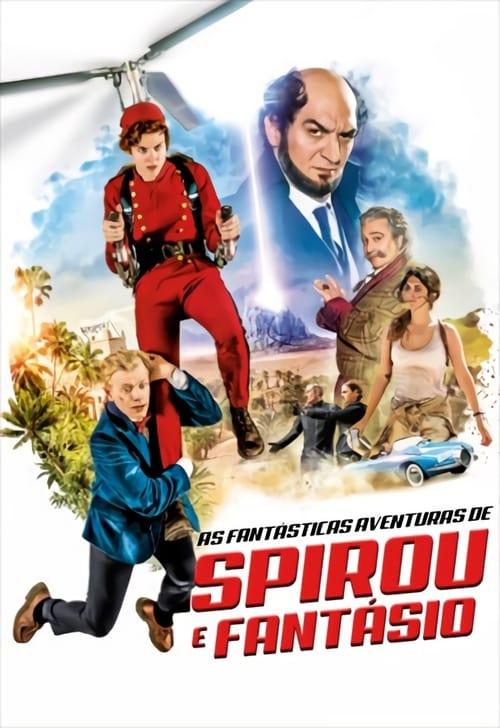 Assistir Filme As Fantásticas Aventuras de Spirou e Fantasio Grátis