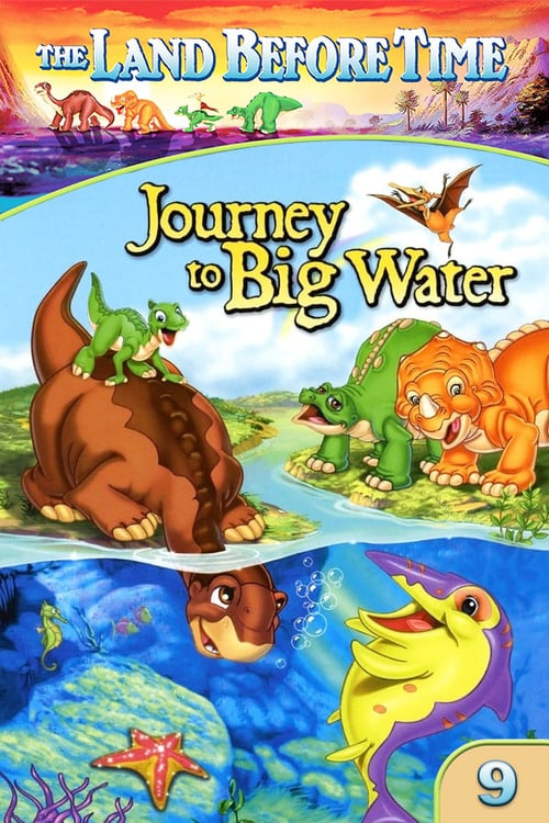 The Land Before Time IX: Journey to Big Water (2002) Poster