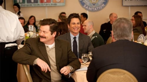 Parks and Recreation - Season 5 - Episode 15: Correspondents' Lunch