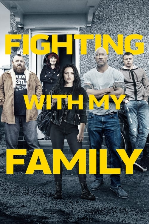 Poster. Fighting With My Family (2019)