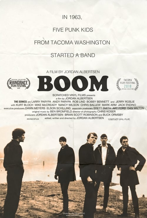 Watch BOOM! A Film About the Sonics Online Megashare