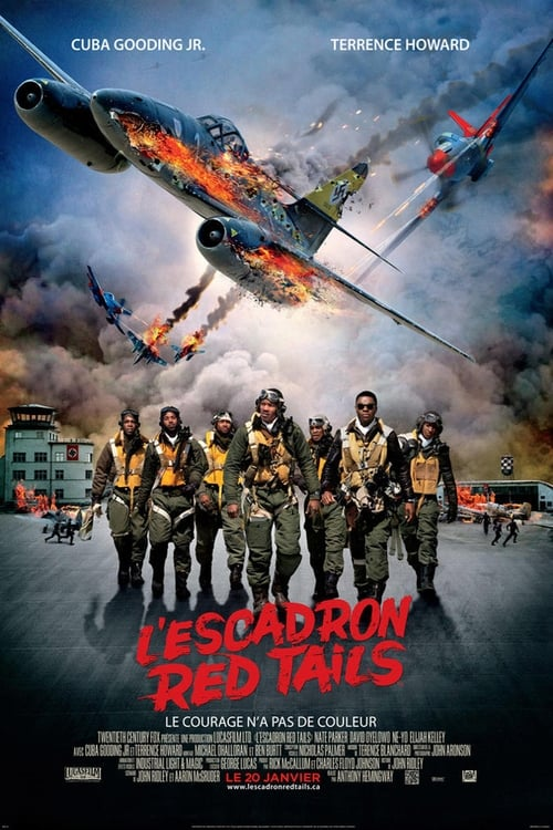 Voir L'Escadron Red Tails (2012) streaming Disney+ HD