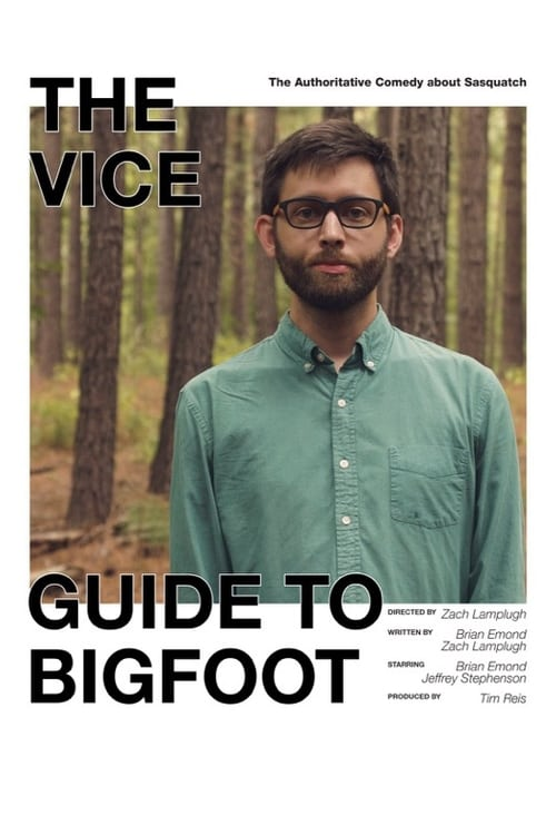 Largescale poster for The VICE Guide to Bigfoot