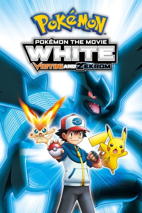 Pokémon the Movie White: Victini and Zekrom (2011) Poster
