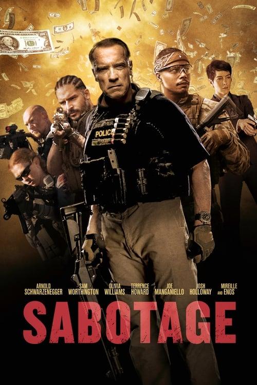 Watch Sabotage (2014) Movie Free Online