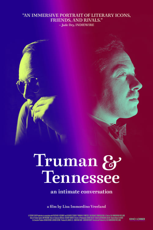 Truman & Tennessee: An Intimate Conversation (2021) Poster