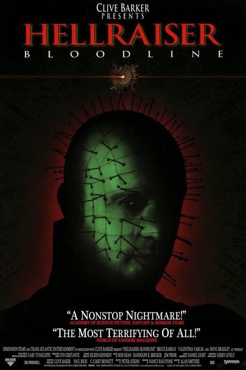 Download Hellraiser: Bloodline (1996) Movie Free Online