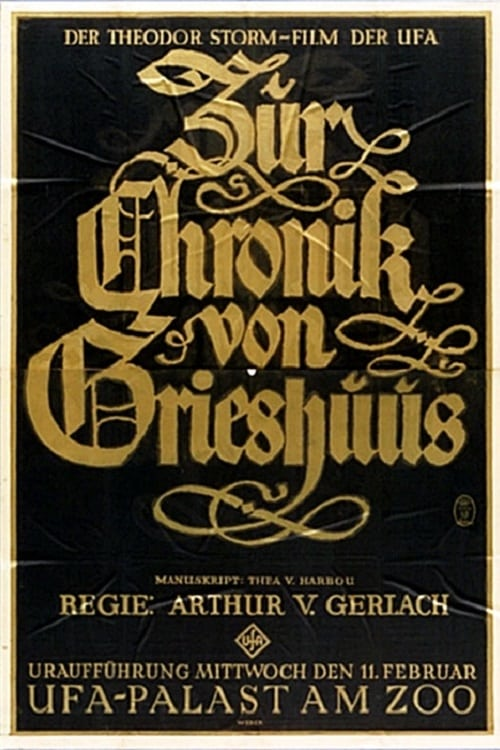 فيلم Zur Chronik von Grieshuus في نوعية جيدة