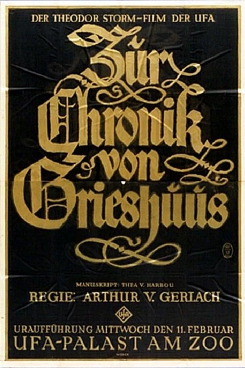 Assistir Filme Zur Chronik von Grieshuus Completamente Grátis