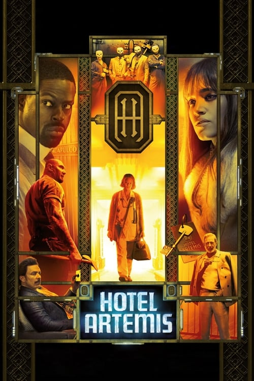 [720p] Hotel Artemis (2018) streaming fr