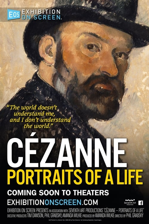 On the website Cézanne – Portraits of a Life - Exhibition on Screen