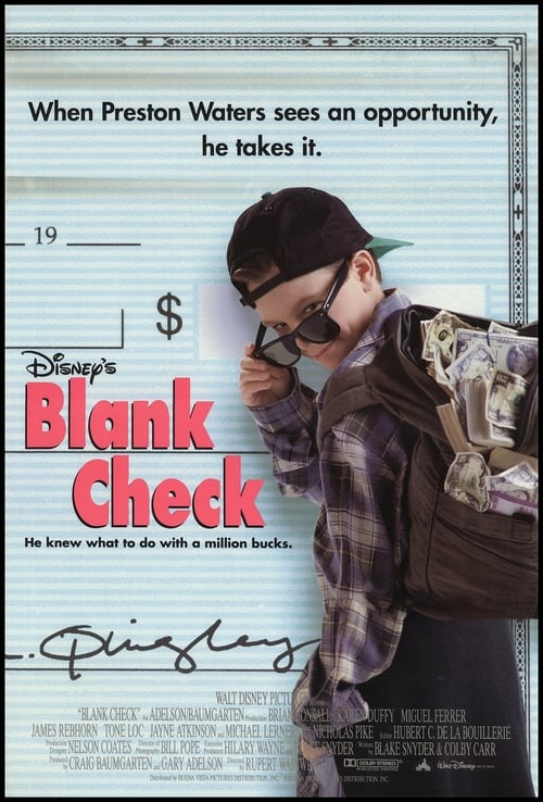 Watch Blank Check (1994) Movie Free Online