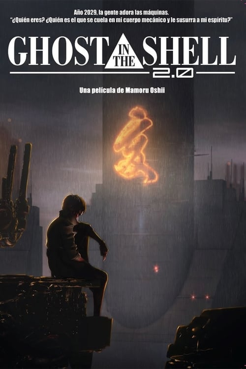 Película Ghost in the Shell 2.0 Doblada En Español