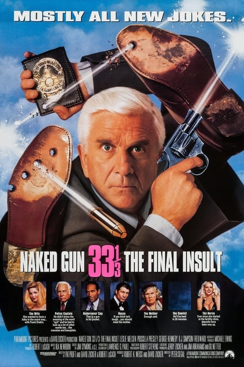 Naked Gun 33⅓: The Final Insult - Poster