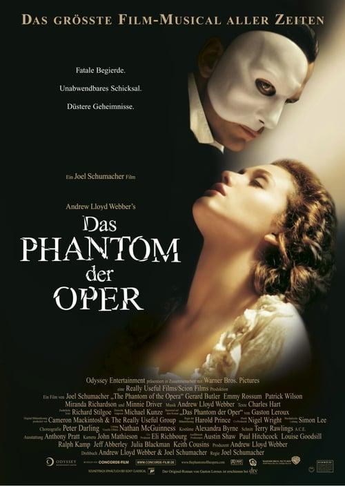 Das Phantom der Oper - Thriller / 2004 / ab 6 Jahre