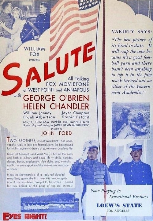 Salute (1929) Poster