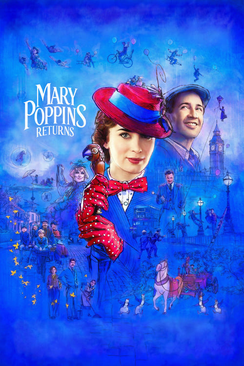 Poster for Mary Poppins Returns