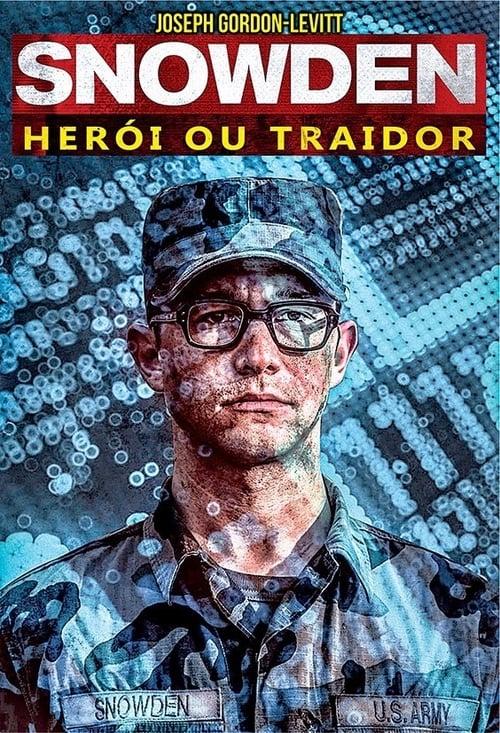 Assistir Snowden : Herói ou Traidor