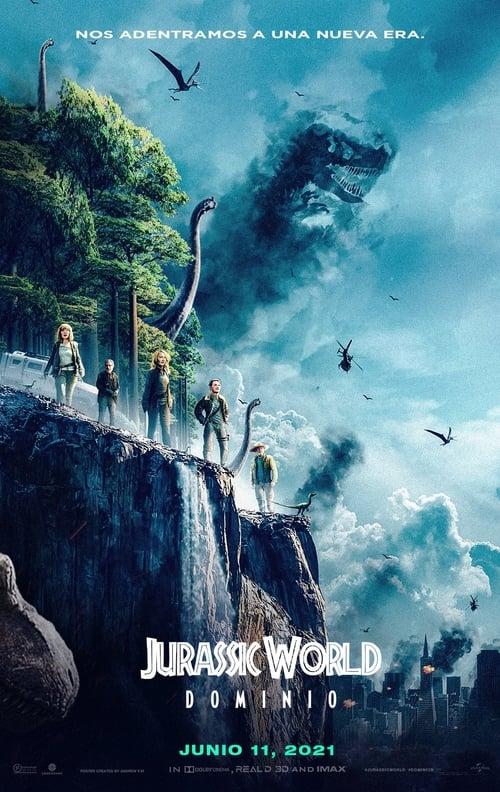 Hd Jurassic World Dominion 2021 Película Gratis Español Latino Ver Películas Online Gratis
