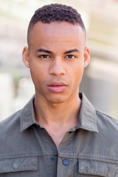 Kép: Mark St. Cyr színész profilképe